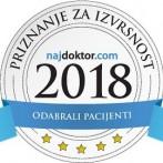 Priznanje za izvrsnost 2018.