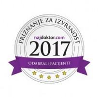 Priznanje za izvrsnost 2017.