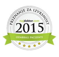 Priznanje portala Najdoktor 2015